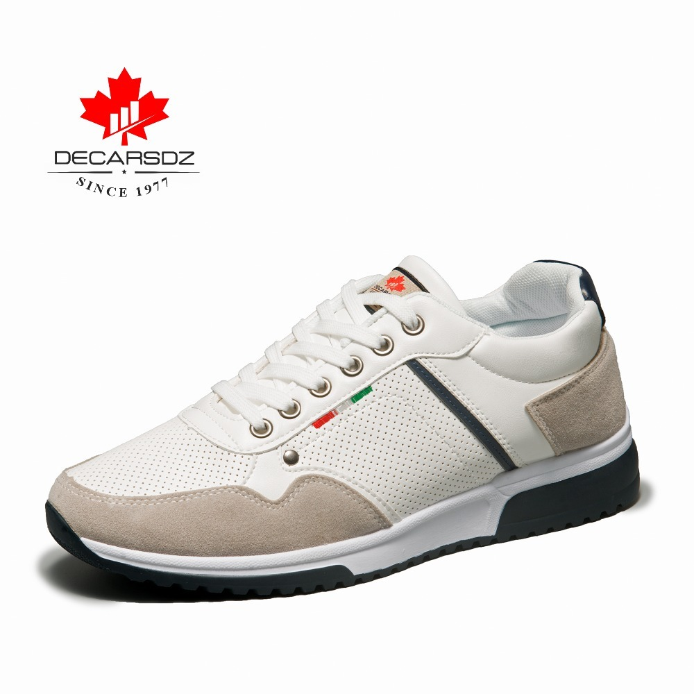 Image 3 - DECARSDZ 2019 Autumn Sneakers Men Fashion Men's Shoes Male Trainers Footwear Brand Walking Casual Shoes Male Men's Casual Shoes-in Men's Casual Shoes from Shoes