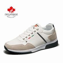 DECARSDZ 2020 סתיו סניקרס גברים אופנה גברים נעלי זכר מאמני הנעלה מותג הליכה נעליים יומיומיות זכר גברים נעליים יומיומיות