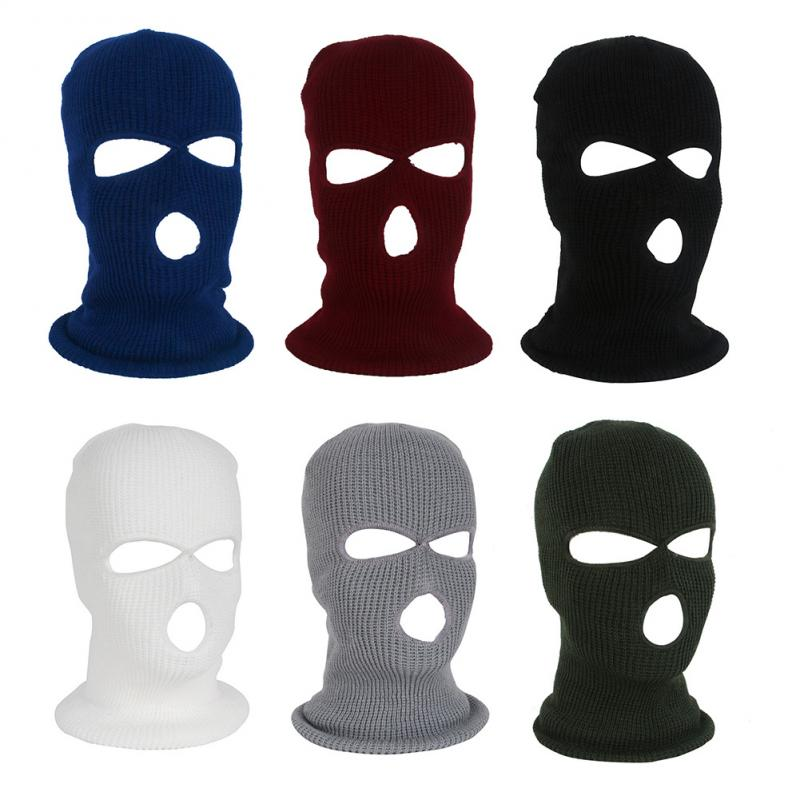 Ski Full Face Mask Cover Hat Cap Motorcycle Thermal Fleece Balaclava Winter NEW