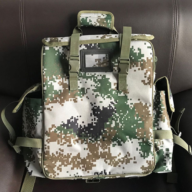 Outdoor First Aid Kit Large Capacity Sports Camouflage Nylon Waterproof Messenger Bag Family Travel Emergency Medical BagLB007