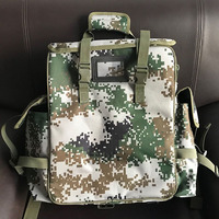 Outdoor First Aid Kit Large Capacity Sports Camouflage Nylon Waterproof Messenger Bag Family Travel Emergency BagLB007