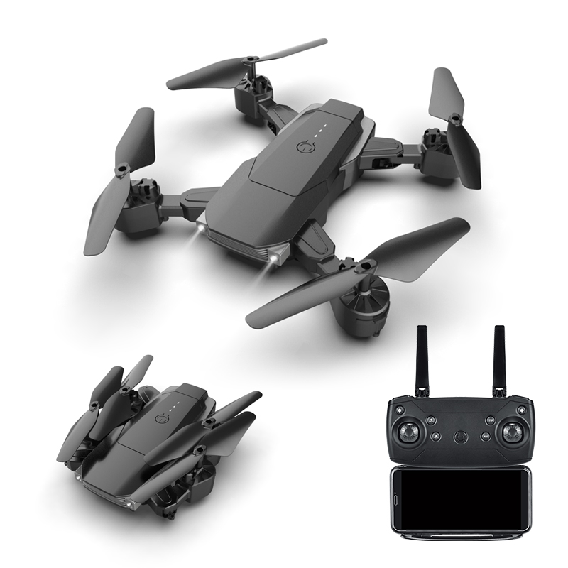 K2 4K WiFi FPV HD Camera Drones Dual-camera Four-axis FPV HD Camera Altitude Hold Headless Mode One Key Return Quadcopter image