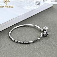XIYANIKE – Bracelet en argent Sterling 925 pour femmes, bijoux créatifs, Vintage, cloche tissée, Style National, cadeau