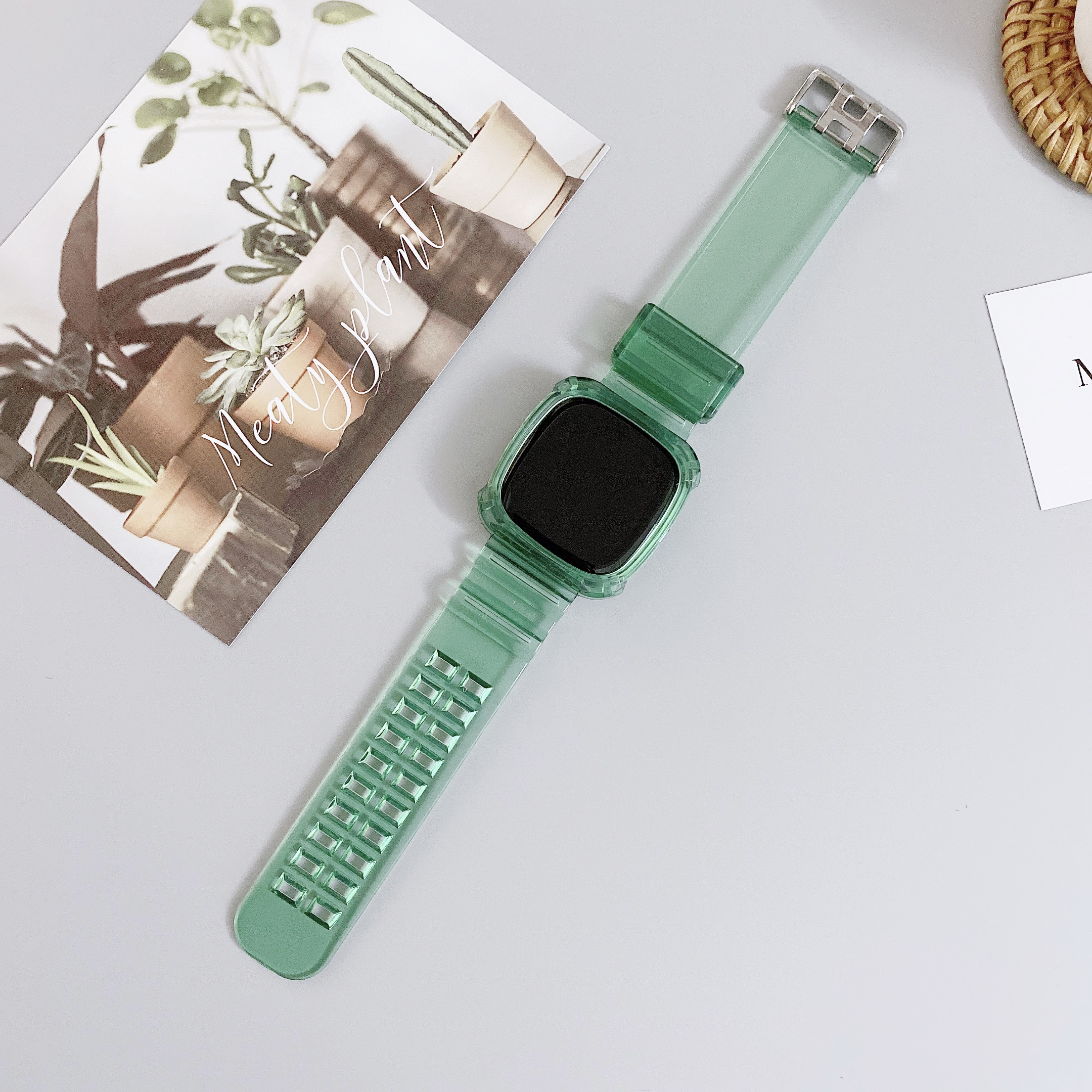 Women Men Sport Bands Soft Silicone Strap Wristbands for Fitbit Versa Fitness US