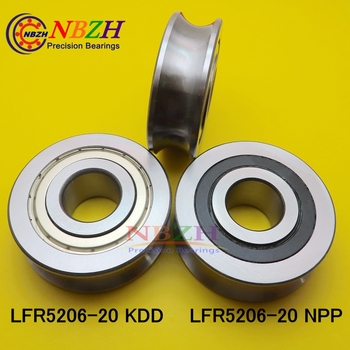LFR5206 KDD 20 MM track LFR5206-20 NPP R5206-20 2RS Precision double row balls Groove Track Roller Bearings 25*72*23.8*25.8 mm