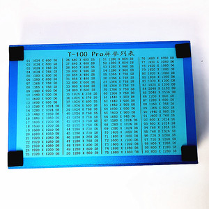 """Image 3 - LVDS LCD testing tools  Built in 100 kinds of programs to choose from Support 7 84 """"LCD screen programas Cables LVDS Inverter"""