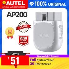 Autel AP200 Bluetooth OBD2 Scanner Lettore di Codice Strumento Diagnostico Completo del Sistema diagnostico scanner PK MK808 easydiag 3.0 ThinkDiag