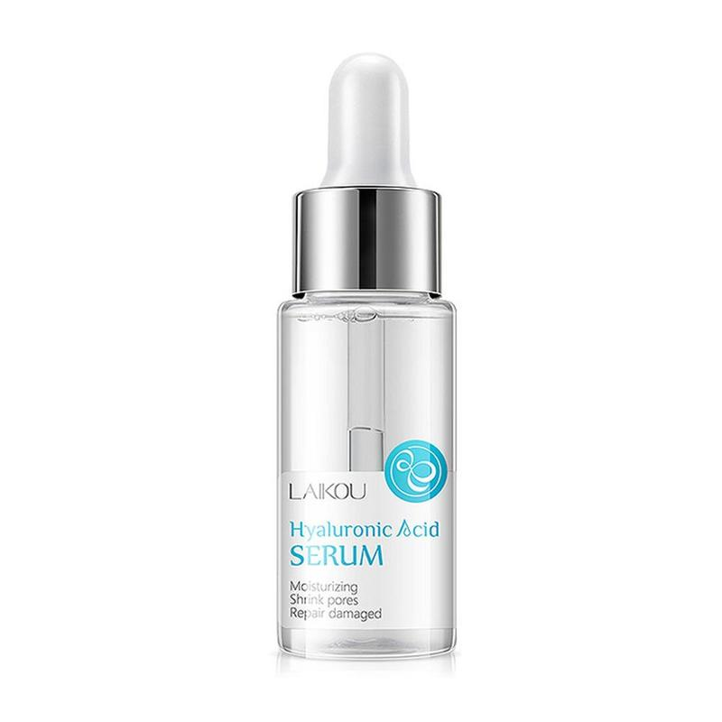 15ml Hyaluronic Acid Face Serum Shrink Pores Face Care Whitening Moisturizing Essence Face Cream Dry Skin Care