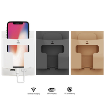 Wall Qi Wireless Charger Stand Holder 5W Dual USB For IPhone 11 Pro X XS 8 XR Samsung S9 S10 S8 S10E Fast Wireless Charging стоимость