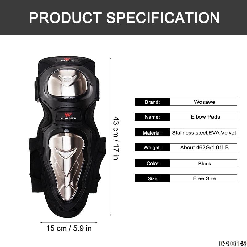 Proteção pad Protetor de Joelho Guardas Esportes Kit