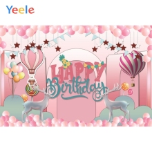 Yeele Unicorn Stars Balloons Birthday Baby Shower Photography Backgrounds Customized Photographic Backdrops For Photo Studio yeele flowers vinyl photographic backgrounds baby shower photo newborn photography backdrops wedding photocall for photo studio