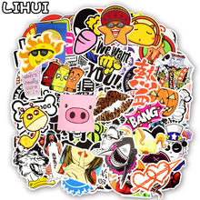 700 PCS Random Colorful Stickers Mixed Graffiti Punk Cartoon Sticker Toys for Kid DIY Guitar Travel Case Laptop Bicycle Stickers