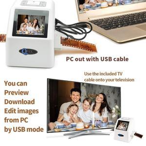 Image 5 - Scanner de Film négatif Portable de 35mm, résolution de 22 mégapixels, 110 135, 126KPK, convertisseur de Film numérique avec écran LCD de 2.4 pouces
