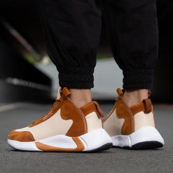 Gorąca sprzedaż buty męskie trampki duże rozmiary 39-46 męskie skórzane buty na co dzień hip-hopowe płaskie buty męskie buty buty designerskie męskie wysokiej jakości tanie i dobre opinie NoEnName_Null Sztuczna skóra Gumowe Lace-up Pasuje prawda na wymiar weź swój normalny rozmiar Podstawowe Wiosna jesień