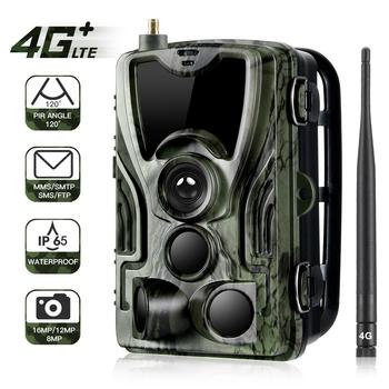 HC-801LTE  Hunting Camera 4g Trail Cameras16MP 1080P Photo Trap 0.3s Trigger wild Wildlife infrared camera Chasse scout Dropship 2