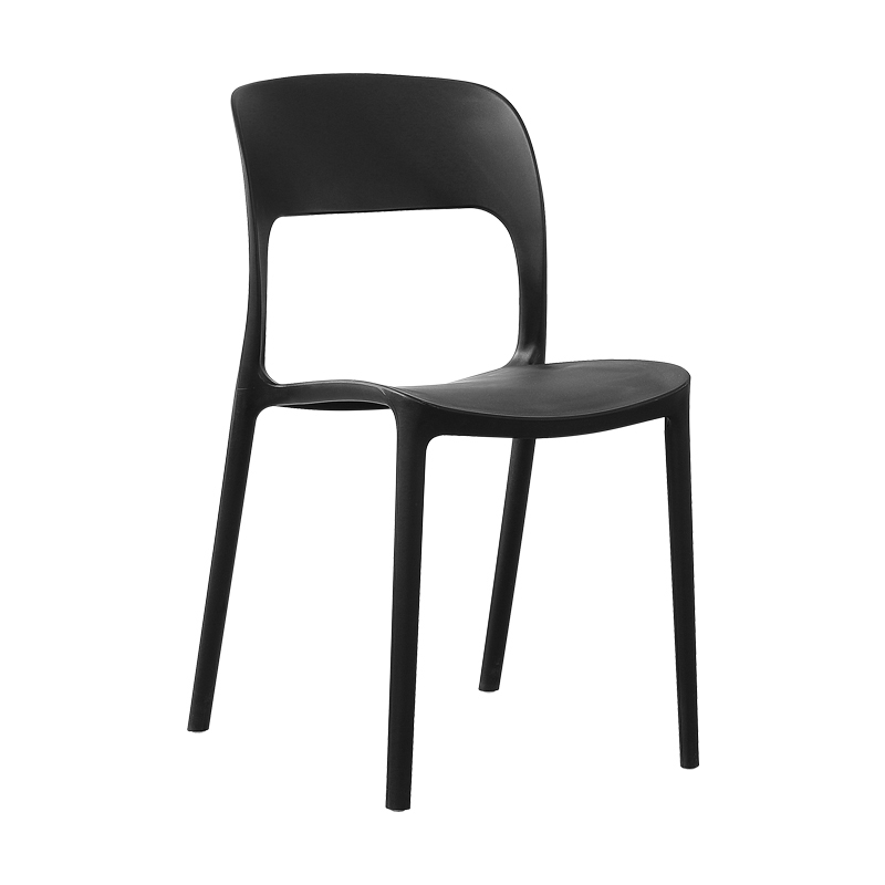 Nordic Hollow Plastic Chair Dining Chair Suitable for Dining Chair Restaurant Office Home Study Bedroom Leisure Plastic Chair