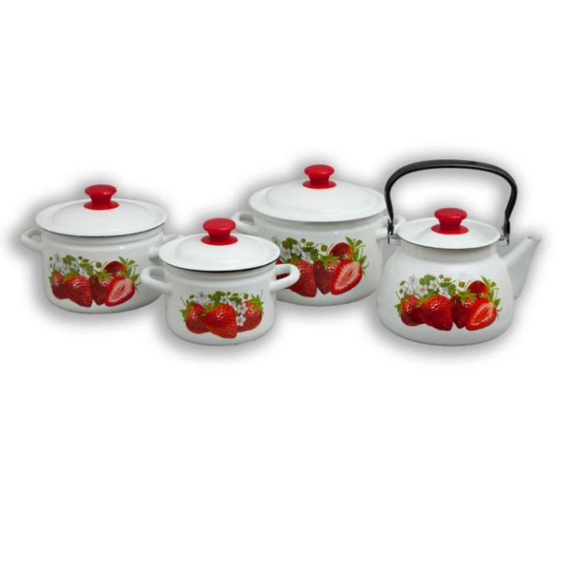 Dinner set for making CMH, Garden strawberry, 8 items цена