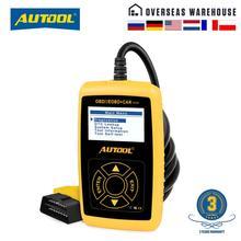 AUTOOL CS320 Scanner de voiture automobile, outil de Diagnostic numérique, lecteur de Code, Scanner CANBUS, bricolage, affichage à LED touches, PK AD410, câble OBD2