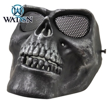 WADSN Tactical M02 Cacique Skull Gen 2 Full Face Mask Security Protection Masks skull-face-mask NH05032 Sports Helmet Accessory
