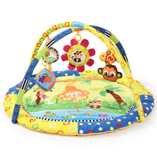 Soft Cotton Baby Play Mat 90*90*50CM 5 Educational Toys Kids Carpet Baby Floor Bed Baby Activity Gym Crawling Mat Playmat Inver