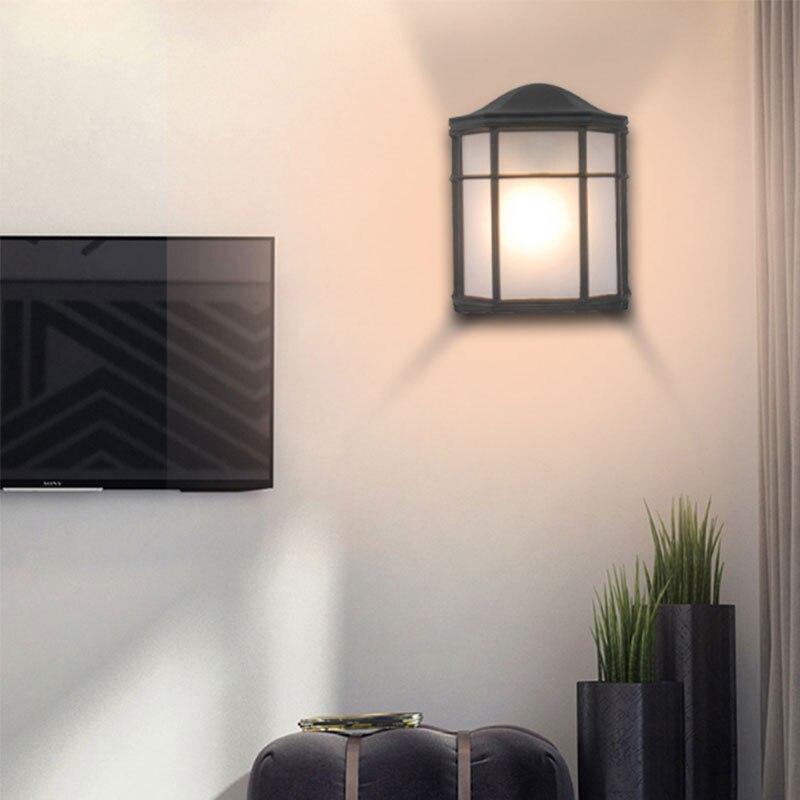 House Shape LED Indoor Wall Lamp Lighting Morden E27 LED Wall Light for Bedroom Living Room Home Balcony  Hotel Villa|Wall Lamps| |  - title=