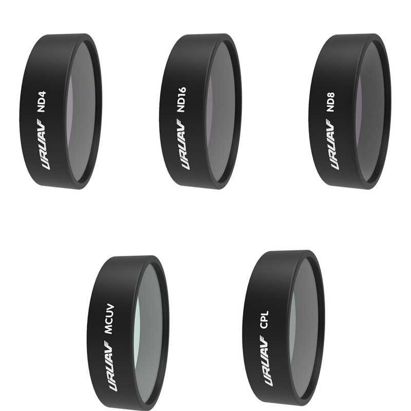 URUAV ND4/ND8/ND16/ND32/CPL/STER/UV Filter Set Lens Filter voor FIMI x8 SE HD 4K Camera
