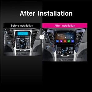 Image 5 - Seicane 9 인치 안 드 로이드 10.0 자동차 라디오 블루투스 4G WiFi 멀티미디어 플레이어 2011 2012 2013 2014 2015 현대 소나타 i40 i45