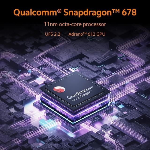 Xiaomi Redmi Note 10 Smartphone Snapdragon 678 AMOLED Display 48MP Quad Camera 33W Cellphone 4GB 128GB 3