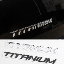 Chrom Aufkleber für Ford TITAN Rand Kuga Fokus 2 3 Explorer Fusion Mondeo Ecosport Fiesta Flucht Tourneo Brief Emblem Aufkleber