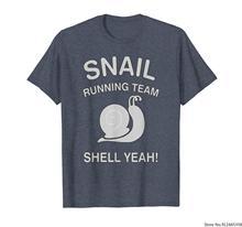 Equipe de corrida de caracol. Shell Sim! TShirt engraçado