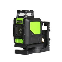 Green Light Laser Level 5/8 Line Outdoor 360 Degree Horizontal Vertical Cross Laser High Self Leveling Construction Tools