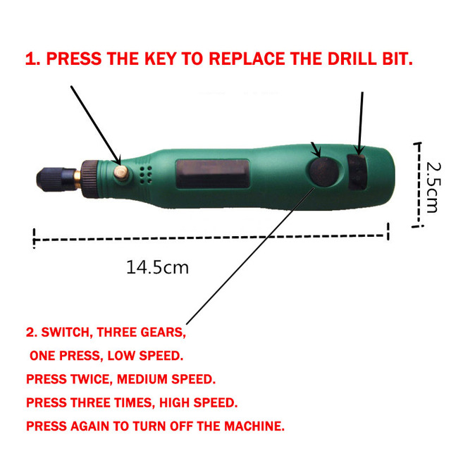 Mini Electric Drill Set Variable Speed Usb Charging for Epoxy Resin Jewelry Making Diy Pearl Wood Craft Tools Kit for Resin 3