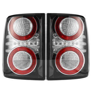Image 4 - 1 Pair LED Rear Tail Light Brake Light Lamp With Bulb for Land Rover Range Rover 2010 2011 2012 Car Styling Replacement