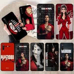 Чехол для телефона La Casa de pape, чехол для Xiaomi Mi9 9SE 8SE Pocophone F1 Mi8 Lite nairobi