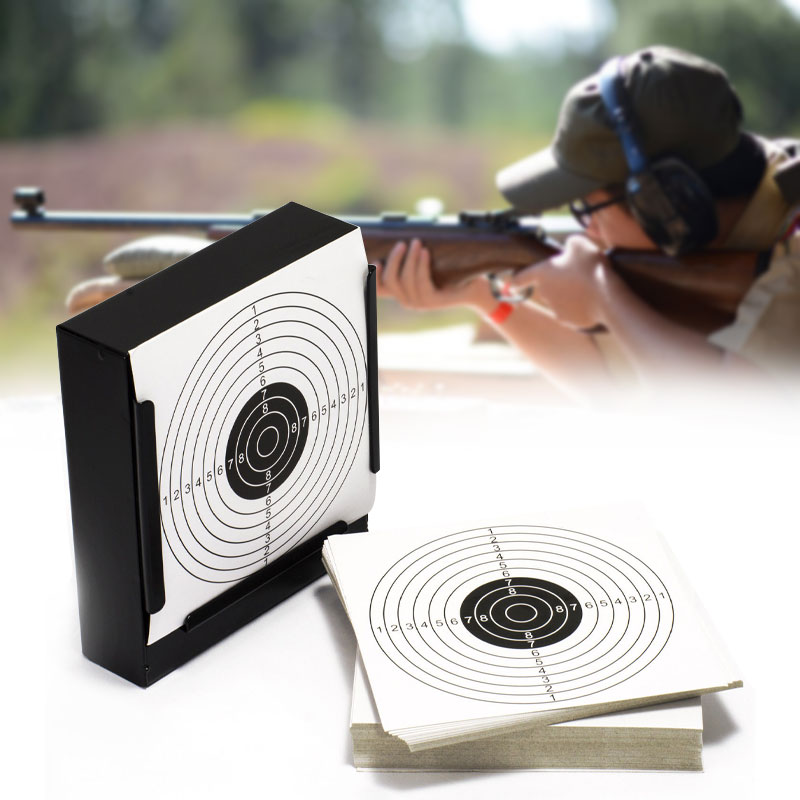 Creative Multiuse 14cm Card Funnel Target Holder Pellet Trap Target For Air Rifle/Airsoft Shooting Paintball Sport New Accessory