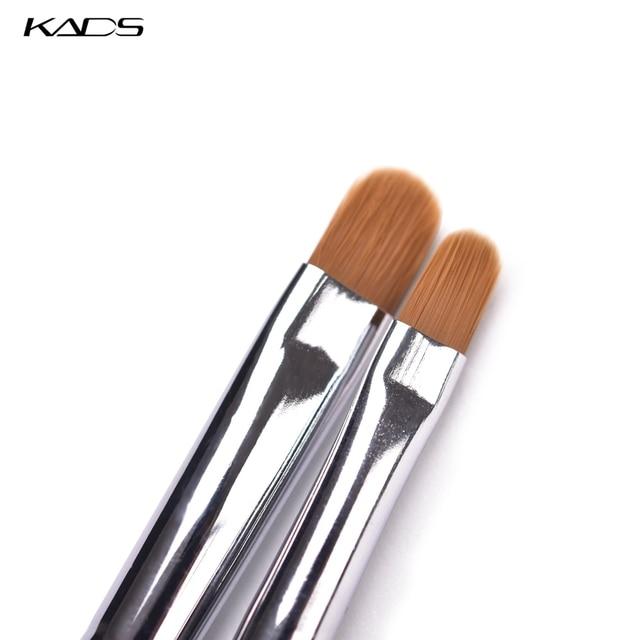 KADS Nail Art Brush Round Head UV Gel Nail Art Tips Extension Transparent Pen Professional Painting Drawing Manicure Tool 5