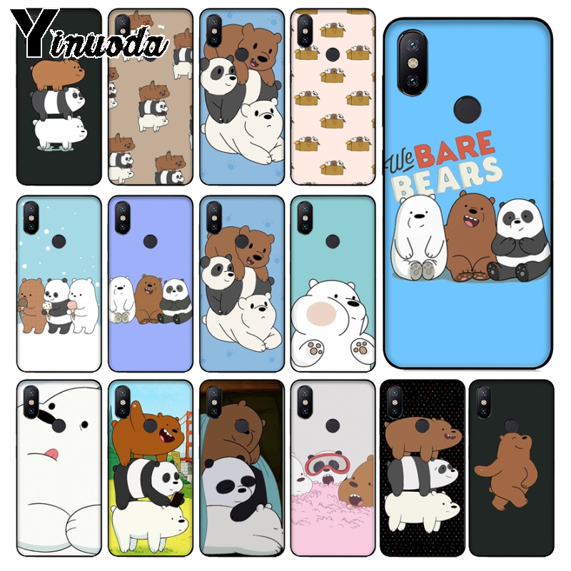 Yinuoda Phone-Case Bare Bears Miniso Note6pro Xiaomi Redmi 9se-Cover 7-5plus for 7-5plus/6pro/6a/..