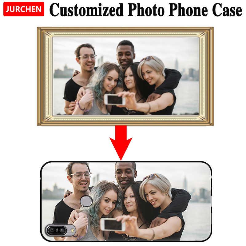 JURCHEN niestandardowe etui do Sony Xperia L2 L3 XZ4 XZ3 kompaktowy XZ1 Mini Premium ACE XA3 XA2 Ultra 5 10 20 Plus okładka dostosowane zdjęcie