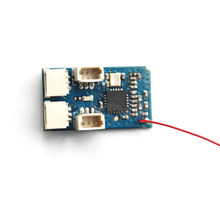 2.4G Micro Mini Receiver Compatible Flysky AFHDS 2A Receiver PPM PWM for RC Drone FPV Racing Airplane Built-in Brushed ESC(China)