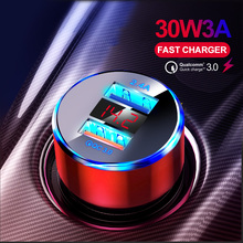 OLAF QC 3.0 Dual Fast Charger 5V 3.1A Car Charger