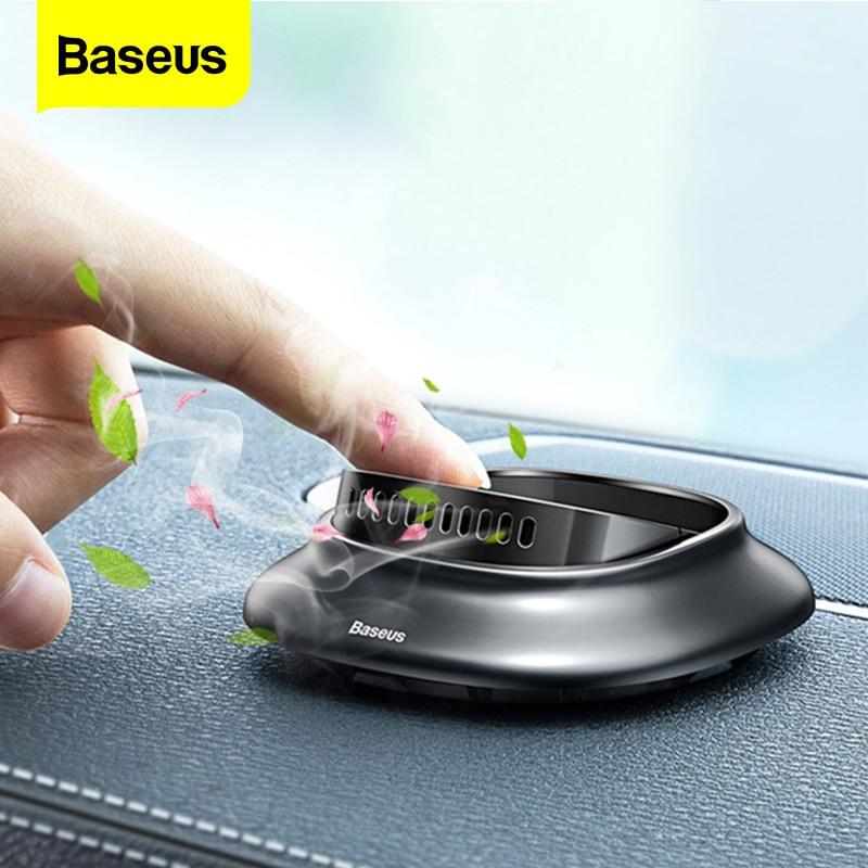 Baseus araba hava spreyi aromaterapi araba parfüm difüzör Dashboard hava çıkış katı araba koku araba iç aksesuarları