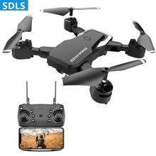 RC Drone 4K HD Camera Dron Wifi FPV Foldable Arms Helicopter Headless Mode Quadcopter 360 Degree 25Mins Long Battery Life Toys