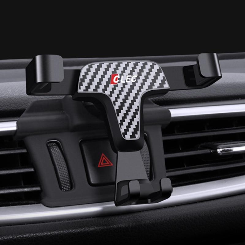 Держатель для телефона с зажимом для Nissan Qashqai J11 2016 2017, держатель для телефона с креплением на вентиляционное отверстие для Nissan X-trail Rogue T32 Qashqai...