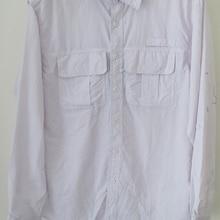 Мужская рубашка для рыбалки UPF30 Ультралегкая дышащая быстросохнущая одежда для рыбалки Camisa Masculina Размер США L-XXL