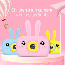 Cartoon Camera Toys Christmas-Gift Digital Kids Child 4-Colors Birthday Available 2inch