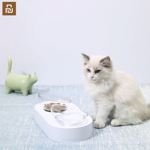 Image 4 - 15 תואר מתכוונן כפול קערת מקום מזון ומים יחד מטרה כפולה נוח חתול קערה
