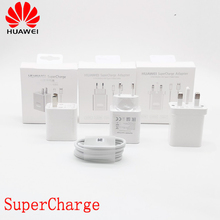 Original Huawei Super Charging Cable Wall Charger For Huawei P20 P10 Mate 9 10 Pro Plus Honor Note 10 View20 V10 V20 5A 22.5W laser tempered glass case for huawei p20 lite p30 pro honor 8x play v20 v10 v9 9i 9 10 y9 2019 nova 3 3i 4 2s mate 20 pro cover