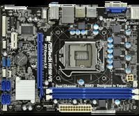 Used ASRock H61M-VS LGA 1155 DDR3 RAM 16G Integrated graphics Motherboard