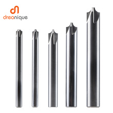 1pc chamfering milling cutter 4 flutes 90 DEG 4-14mm deburring Router Bit solid carbide inner radius chamfer tool mzg concave radius milling cutters welding blade type tungsten steel r angle chamfer cutter workpiece chamfering processing