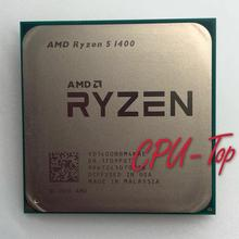 AMD Ryzen 5 1400 R5 1400 3.2GHz Quad-Core CPU Processor